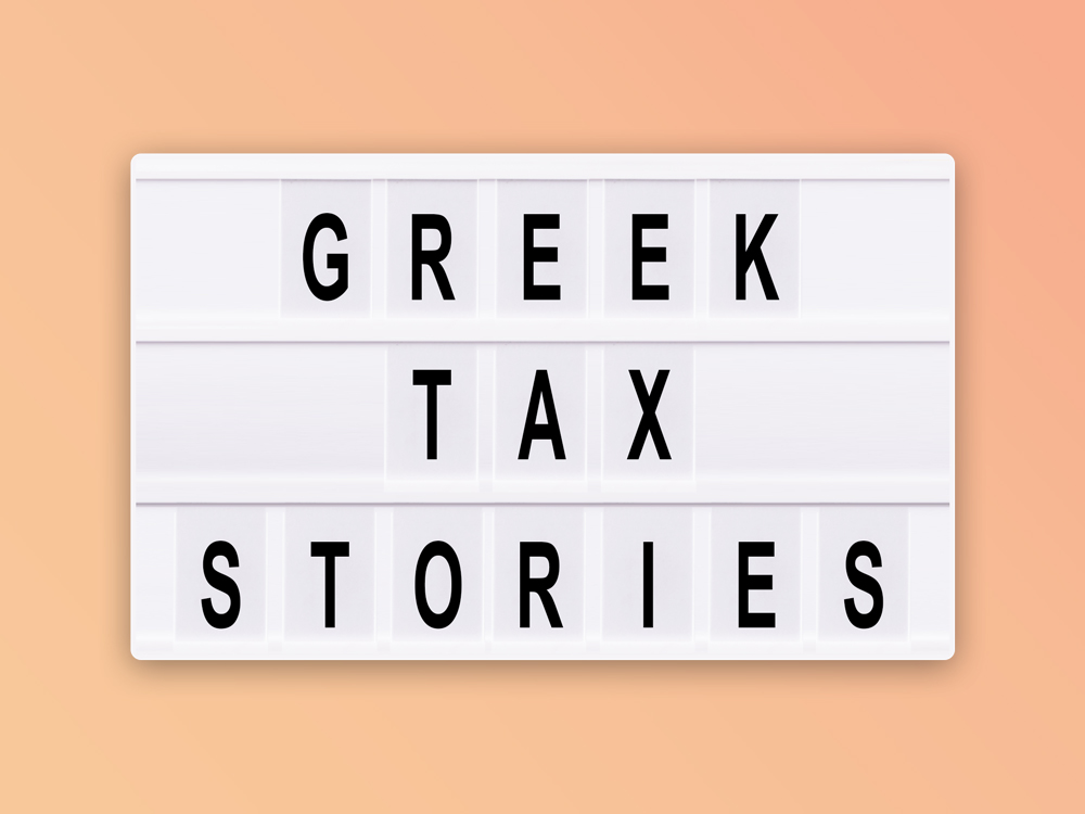 Greek tax Stories